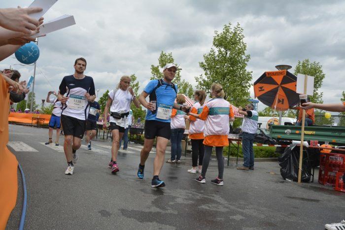 Vierter Kolping-Sponsorenlauf Beim Vivawest-Marathon