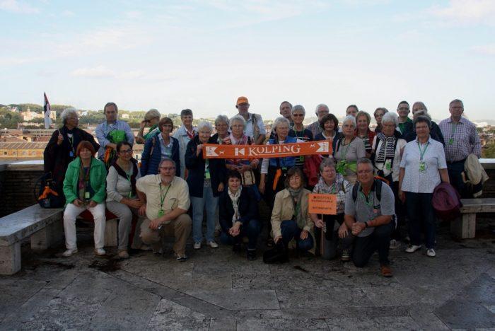 Kolpingsfamilie Bottrop-Mitte Auf Pilger-Bildungsfahrt Nach Rom