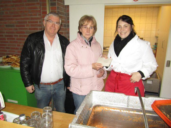 """Kolpingsfamilie Bottrop-Mitte Unterstützt """"das Restaurant Der Herzen"""" Kolüsch"""