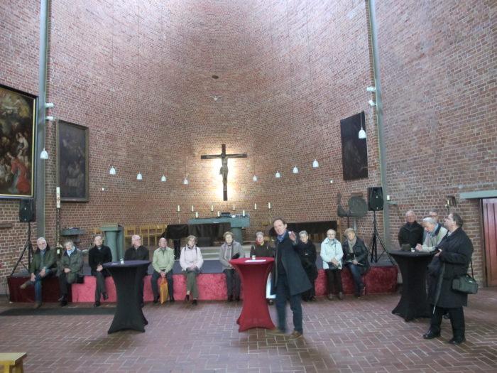 Kolpingsfamilie Bottrop-Mitte Besichtigt Die Kulturkirche Heilig Kreuz