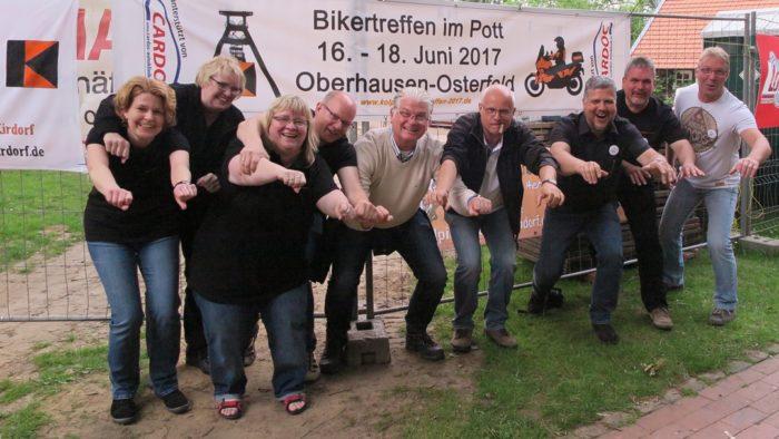 Internationales Kolping-Bikertreffen In Oberhausen 16.-18. Juni 2017