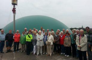 Senioren Staunen über Energiewirtschaft Bei Bio-Bauer Miermann