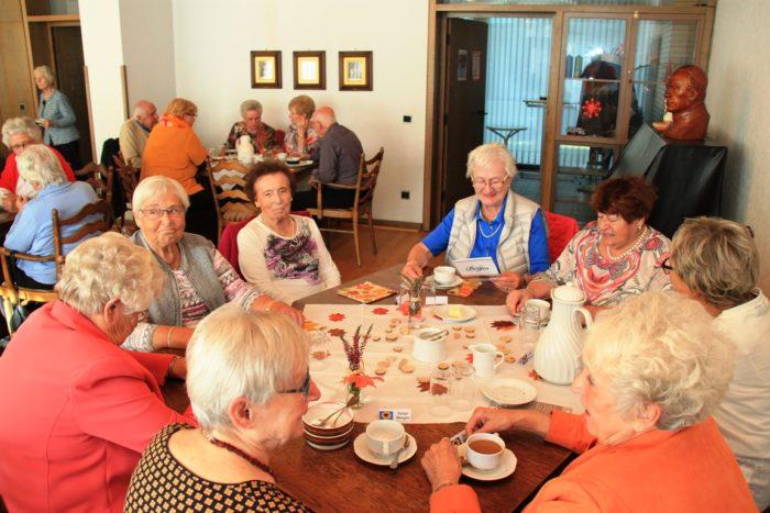 Erntedankfrühstücksbuffet Der Kolpingsfamilie Bottrop-Mitte