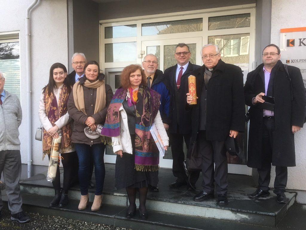Der Polnische Nationalvorstand An Der Geschäftsstelle Essen