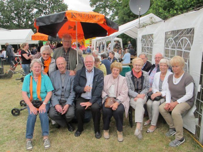 Kolpingsfamilie Bottrop-Mitte Im Einsatz Beim Gemeindefest St. Cyriakus / St. Elisabeth Und Heilig Kreuz