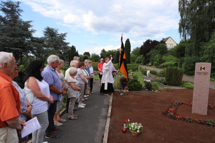 Grabstätte Für Kolpingmitglieder Der Kolpingsfamilie Essen-Kupferdreh