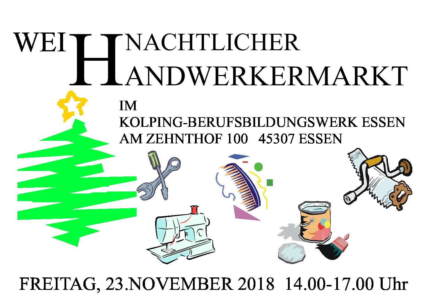 Weihnachtlicher Handwerkermarkt Im Kolping-Berufsbildungswerk