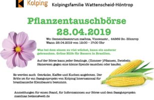 KF Wattenscheid-Höntrop Lädt Ein Zur Pflanzentauschbörse Am 28.04.2019