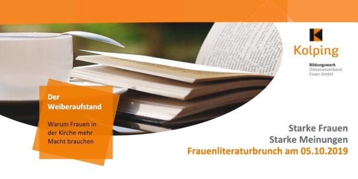 Herzliche Einladung Zum Frauenliteraturbrunch Am 5. Oktober