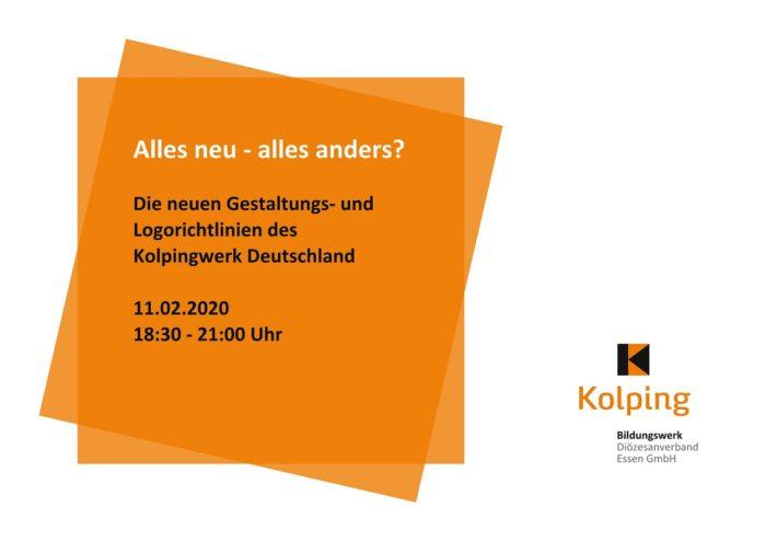Seminar Zum Neuen Corporate Design Am 11.02.2020