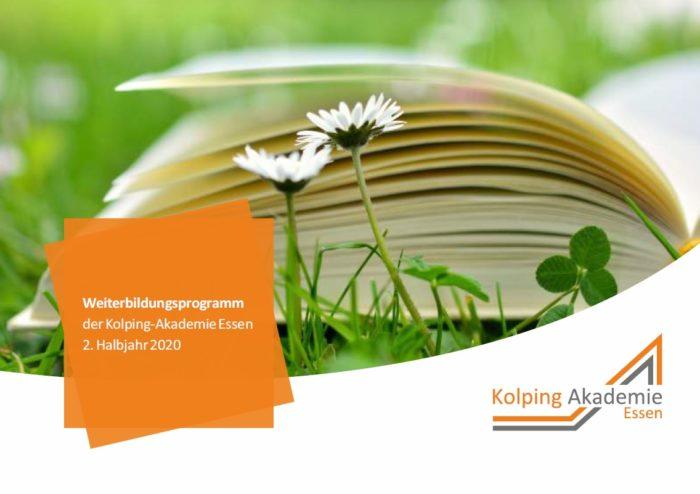 Das Akademie-Programm Für Die 2. Jahreshälfte Ist Online